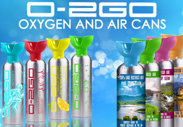 Oxygen Air Cans